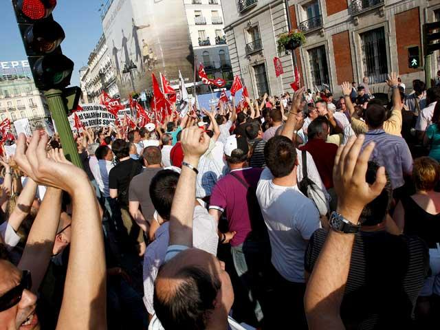Jornada de huelga en el metro de Madrid