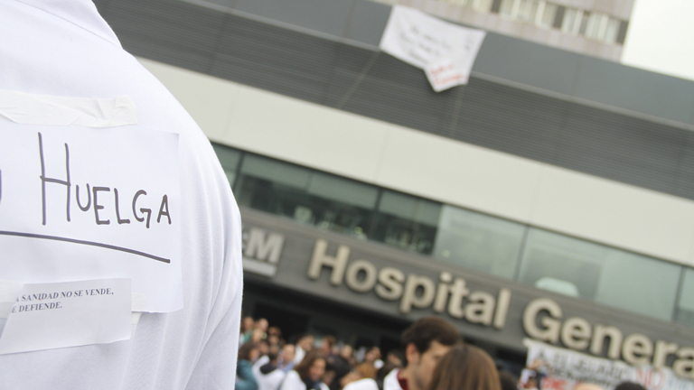Arranca la segunda huelga de 48 horas de la comunidad sanitaria madrileña