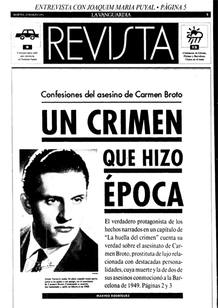 La huella del crimen - El caso de Carmen Broto - El crimen en la prensa