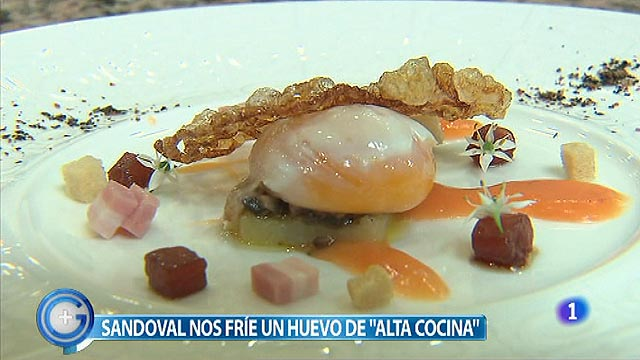 M&aacute;s Gente - El reto de cocina: &iquest;Huevos fritos caseros o de autor?