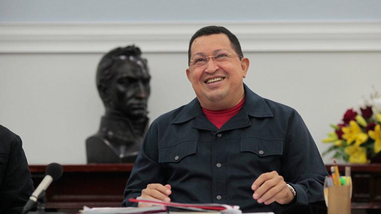Hugo Chávez reaparece en televisión y reitera que será candidato a la reelección