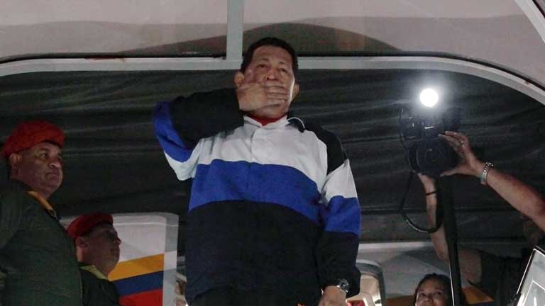El presidente venezolano  será operado por cuarta vez