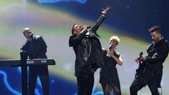 Ver vídeo  'Hungría Eurovisión 2012 - Compact Disco - 1ª semifinal'