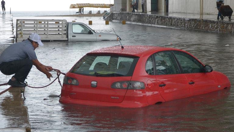 """El huracán Bárbara pone a México en """"alerta roja"""""""