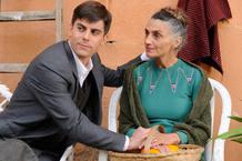 Iban Garate y Angela Molina en 'Miel de naranjas'