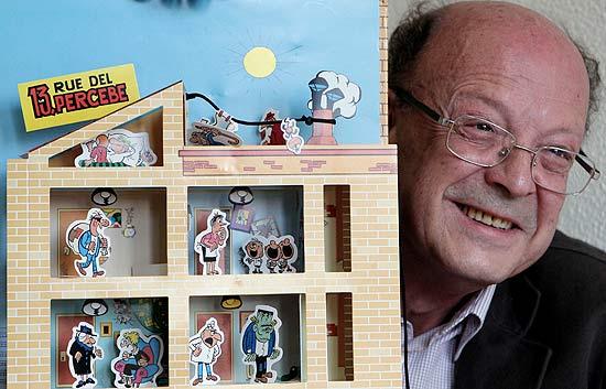 """Ibáñez reconstruye """"13 Rúe del Percebe"""" con un libro interactivo desplegable"""