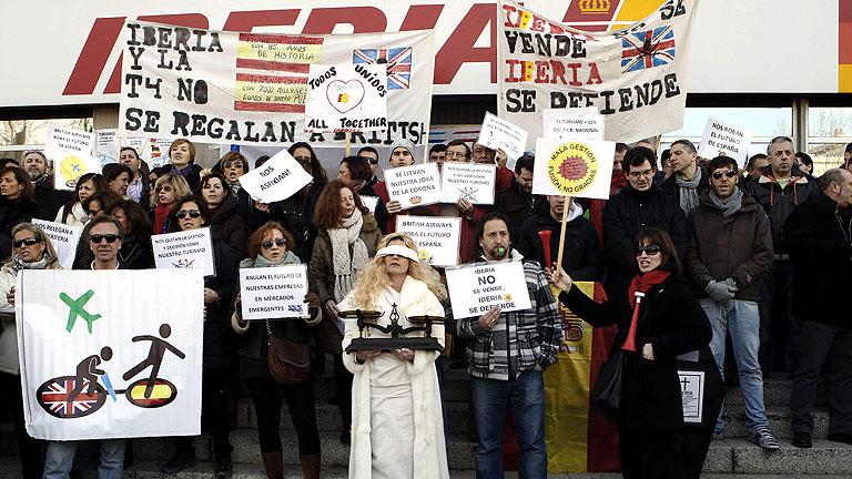 Iberia sufre desde hoy la mayor huelga en su historia