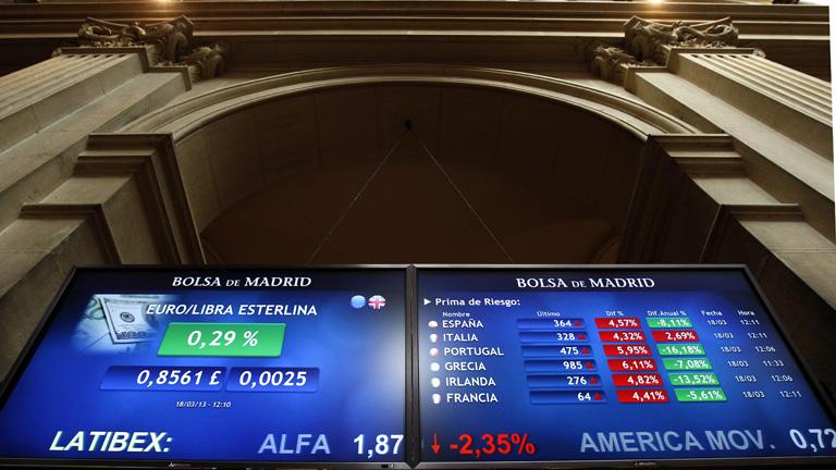 El Ibex-35 cierra con una caída del 1,29% pero salva el nivel de los 8.500 puntos