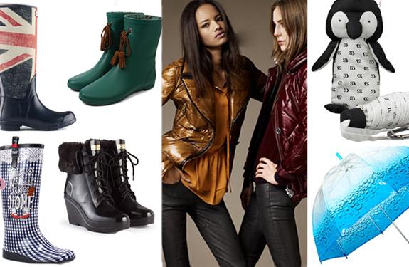 Ideas para un estilismo perfecto en días de lluvia