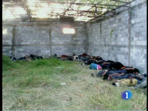 Ver vídeo  'Identificados los siete autores de la matanza de Tamaulipas, México'