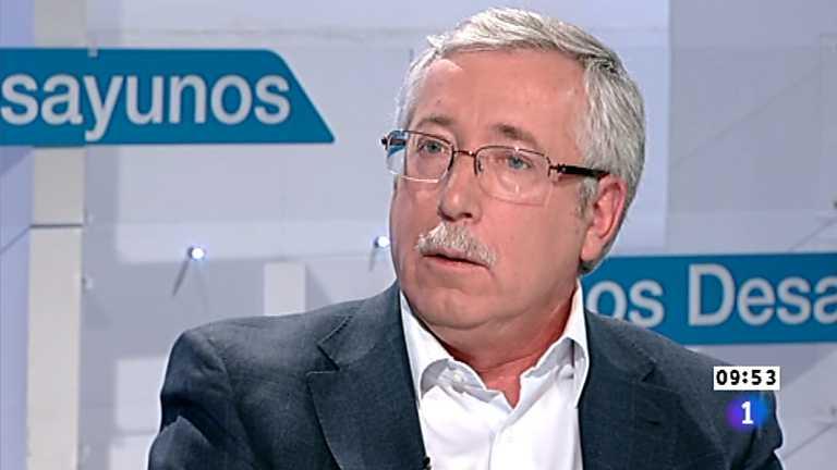 Los desayunos de TVE - Ignacio Fernández Toxo, Secretario general de CC.OO