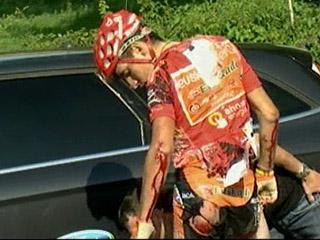 Ver vídeo  'Igor Antón abandona la Vuelta - 11/09/10'