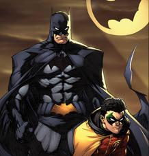 Ilustración de Batman de Greg Capullo