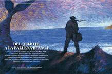 Ilustración de José Ramón Sánchez recogida en 'Moby Dick. La atracción del abismo'