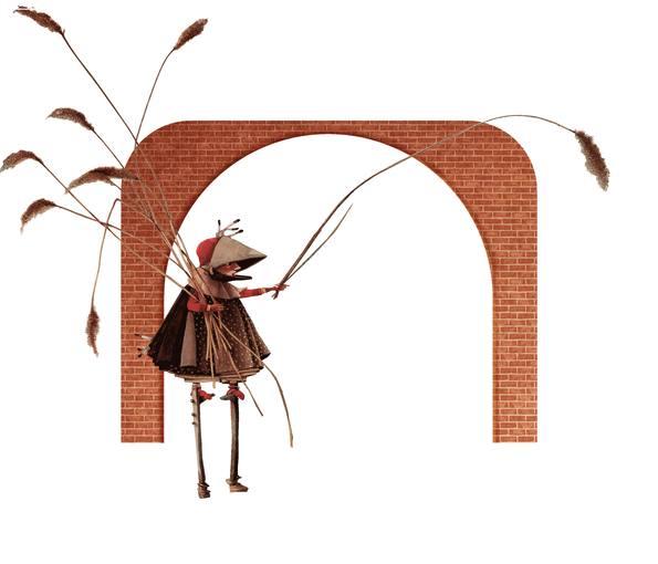 Ilustración de 'El pequeño teatro de Rebecca', de Rébecca Dautremer