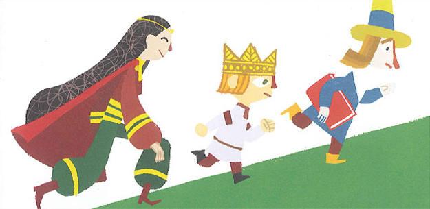 Ilustración de 'El secreto del huevo azul', de Catalina González Vilar y Tomás Hijo