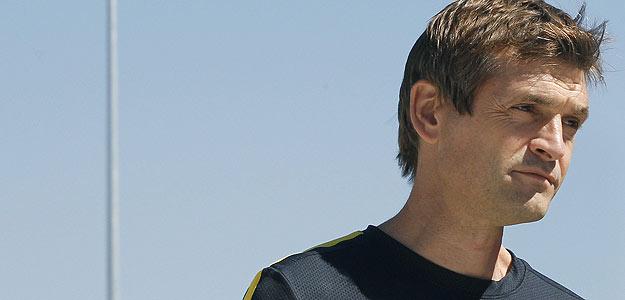 Imagen de archivo del entrenador barcelonista, Francesc 'Tito' Vilanova.