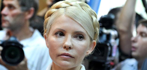 Imagen de archivo de la exprimera ministra ucraniana Yulia Tymoshenko