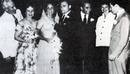 Imagen de la boda de Elisabeth Taylor y Mike Todd