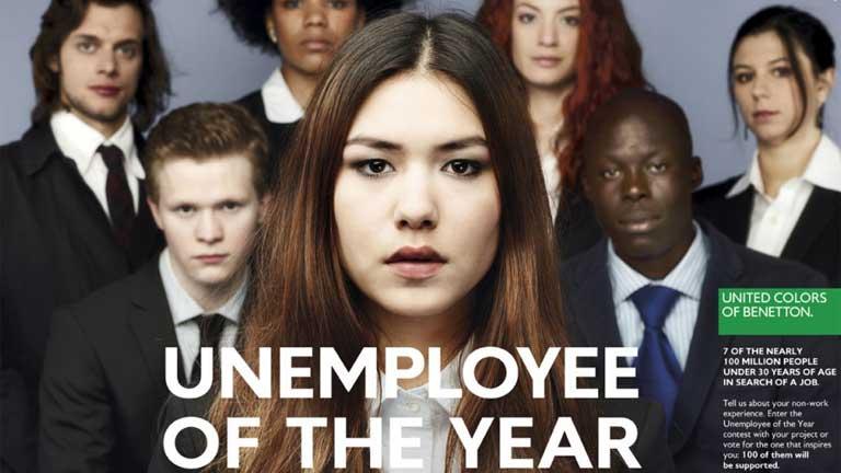 """Imagen de la campaña """"desempleados del año"""""""