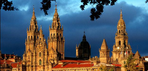 Imagen de la catedral de Santiago de Compostela