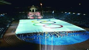 Imagen de la ceremonia inaugural de Barcelona 92