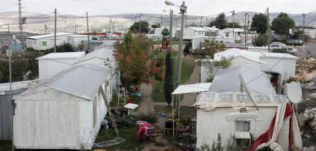 Imagen de la colonia ilegal de Bruchin, en Cisjordania