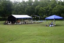 Imagen del campamento y del complejo donde encontraron las herramientas, que han llamado 'Buttermilk'