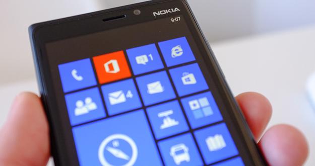 Imagen del Nokia Lumia 920.