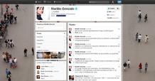 Una imagen del perfil de Marilink en Twitter
