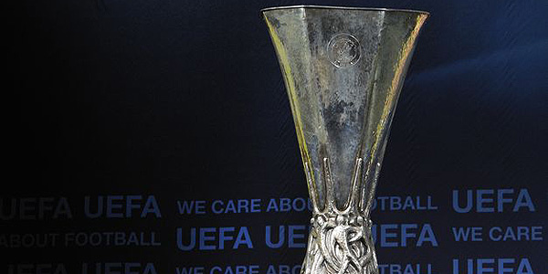Imagen del trofeo de la UEFA Europa League.