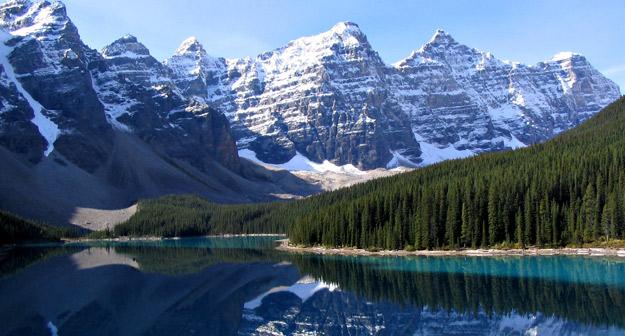 Imagen de las Montañas Rocosas, Estados Unidos.