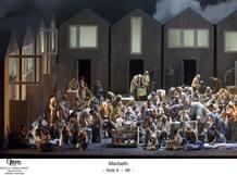 Imagen de la producción de Macbeth que ofrecerá el Teatro Real en su próxima temporada