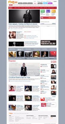 Imagen de la web de Radio 3