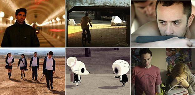 Imágenes de algunos de los cortometrajes participantes en el XIII concurso de Versión Española-SGAE
