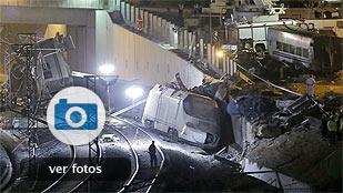 Las imágenes del accidente