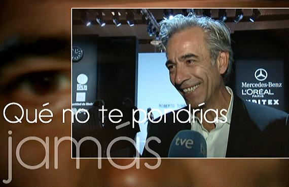 """Imanol Arias: """"Me gusta la moda vintage, porque yo ya también soy vintage"""""""