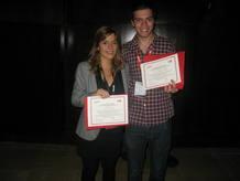 Teresa Gonzalo y Pau García-Milá, los dos ganadores de la primera edición de los premios TR35 Spain