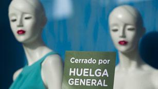 Ver vídeo  'Impacto de la huelga en el comercio'