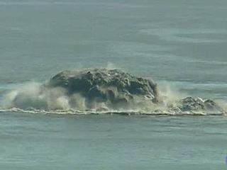 Ver vídeo  'Impresionantes burbujas de la erupción de El Hierro'