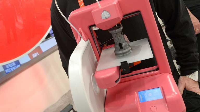 Las impresoras 3D una de las novedades del CES