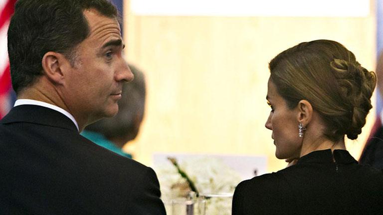 Los Príncipes asistieron a la cena inaugural del Foro España-Estados Unidos