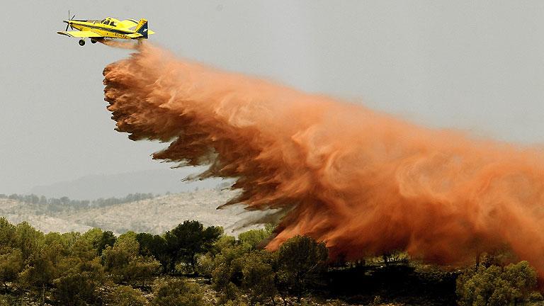 Estabilizado el incendio forestal en Benaguacil