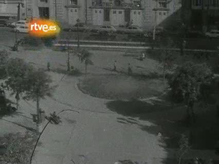 Ver vídeo  'El incendio que destruyó el teatro Español en 1975'