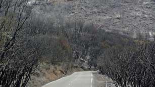 Ver vídeo  'El incendio de la Gomera sigue sin control e imposible de estabilizar en las próximas 24 horas'