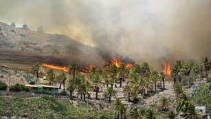 Ver vídeo  'Incendio sin control en La Gomera'