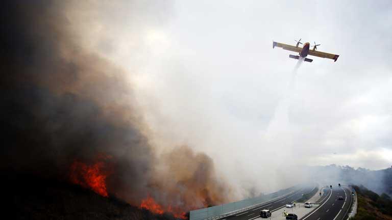 Verano muy duro en cuanto a incendios forestales