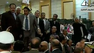Ver vídeo  'Incidentes en Egipto tras la condena a Mubarak'