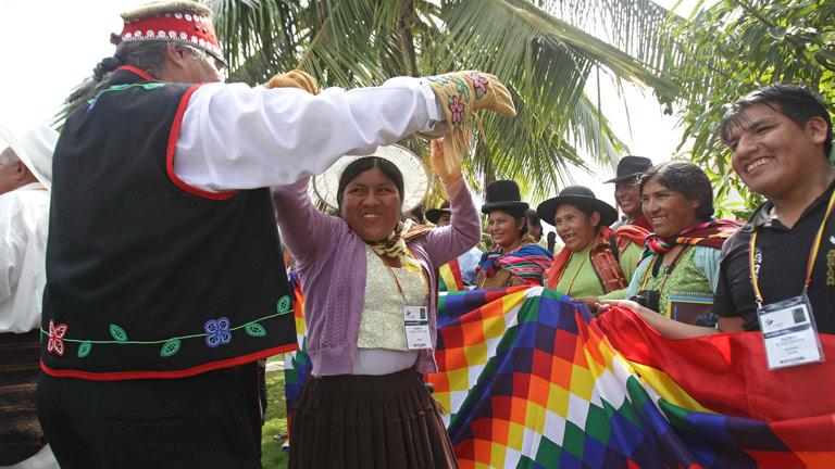 Los indígenas piden su integración en las sociedades latinoamericanas