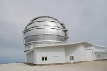 El Gran telescopio de Canarias inaugurado en el año 2009 , se encuentra ubicado en el observatorio del Roque de los Muchachos en la Isla de la Palma